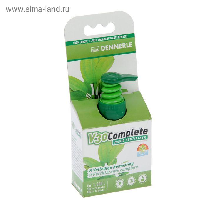 Полное комплексное удобрение для всех аквариумных растений,Dennerle V30 Complete - 50 мл на 1600 л