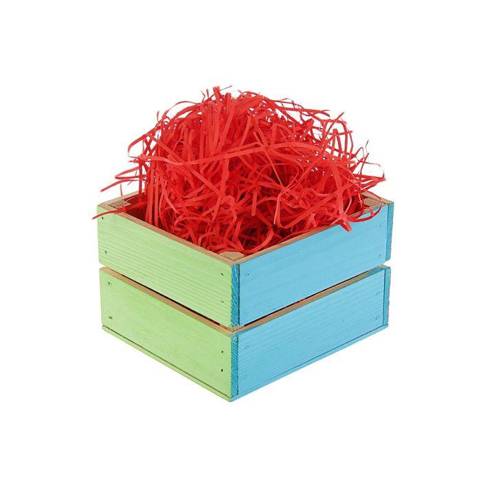 Наполнитель бумажный красно-кирпичный, 500 г