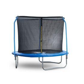 Батут Start Line Fitness 8 футов (244 см) с внешней сеткой и держателями сетки