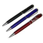 Ручка подарочная шариковая поворотная корпус МИКС Цветы
