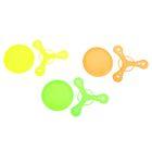 Набор 2 предмета: бумеранг, тарелка, цвета МИКС
