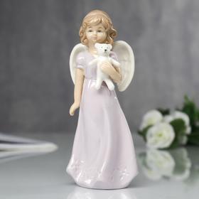 """Сувенир """"Ангел с мишуткой"""" 15х6х5 см"""