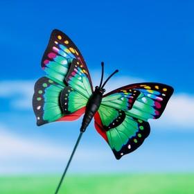 """Штекер для комнатных растений """"Бабочка"""" 6*7 см, длина 25см"""