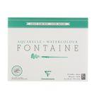 Альбом для акварели хлопок грубая техника В4 240*300 мм Clairefontaine Fontaine 25 листов 300 г/м2 склейка Торшон 96429С