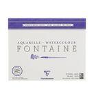 Альбом для акварели хлопок горячее прессование В4 240*300 мм Clairefontaine Fontaine 25 листов 300 г/м2 склейка Сатин 96406С