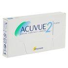 Контактные линзы Acuvue 2, диопт. -5,5, рад. 8,3, в наборе 6шт