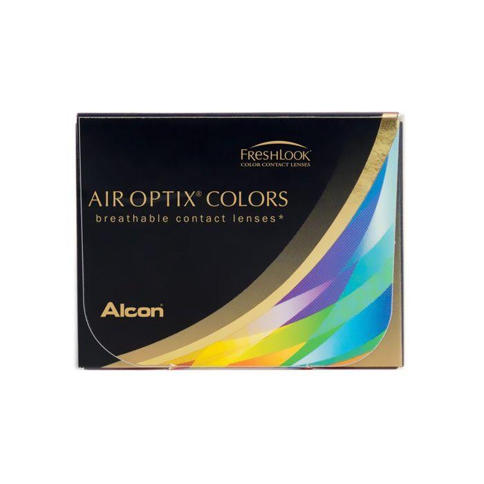 Цветные контактные линзы Air Optix Aqua Colors 2 pk NEW Gemstone green, диопт. -2,25, в наборе 2шт