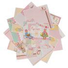 """Набор бумаги для скрапбукинга """"Сделано с любовью"""", 30,5 х 30,5 см, 12 листов, 180 г/м"""