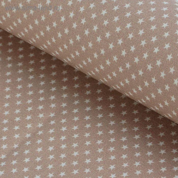 """Ткань для пэчворка """"Звёзды"""", 48х50см, 120г/кв.м, № 9"""