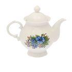"""Чайник заварочный """"Царский"""", 0,8 л, голубые цветы"""