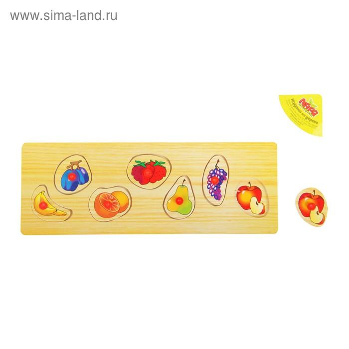 """Рамка-вкладыш малая """"Фрукты и ягоды"""", 7 элементов"""