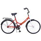 """Велосипед 24"""" Altair City 24, 2017, цвет красный, размер 16"""""""