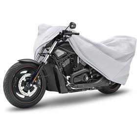Тент для мотоцикла, защитный, 115 × 220 см, полиэстер, усиленный