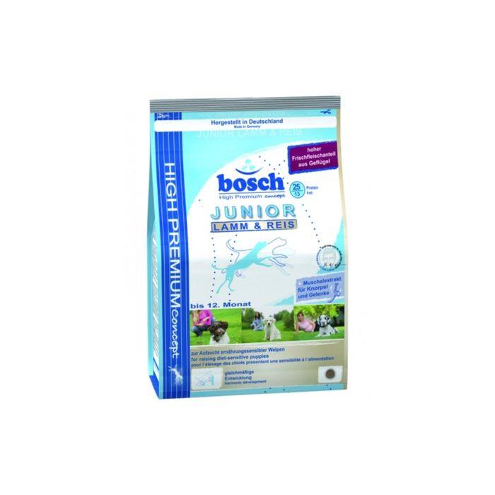 Сухой корм Bosch Junior для щенков Ягненок/Рис, 1кг