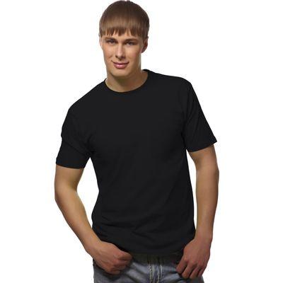 Футболка мужская StanGalant, размер 50, цвет чёрный 150 г/м 02