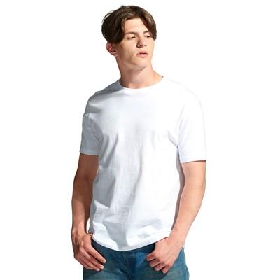 Футболка мужская StanGalant, размер 52, цвет белый 150 г/м 02