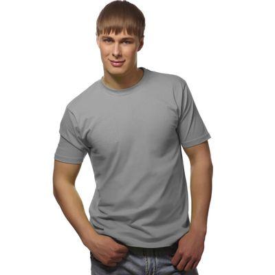 Футболка мужская StanGalant, размер 52, цвет светло-серый 150 г/м 02