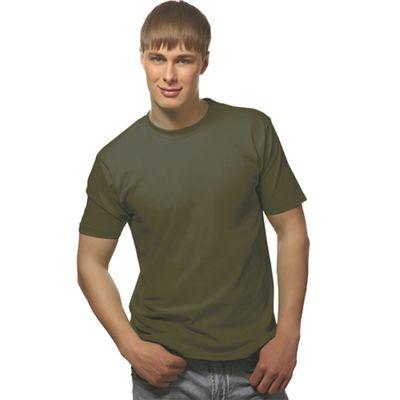 Футболка мужская StanGalant, размер 52, цвет хаки 150 г/м 02