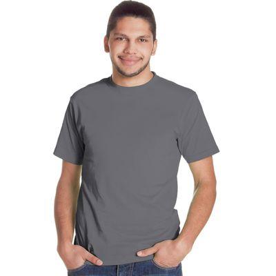 Футболка мужская StanGalant, размер 52, цвет тёмно-серый 150 г/м 02