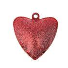 """Набор декора для творчества """"Колокольчики в форме сердца"""" матовые d=2,5 см набор 5 шт МИКС"""