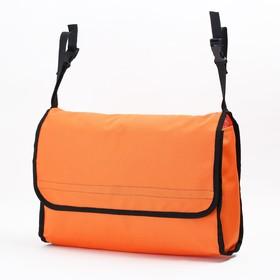 Сумка для коляски, цвет оранжевый