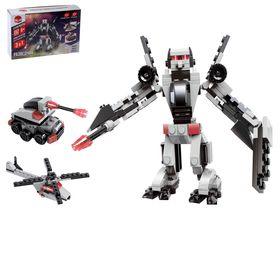 """Конструктор-робот """"Разведчик"""", 152 детали, 3 варианта сборки"""