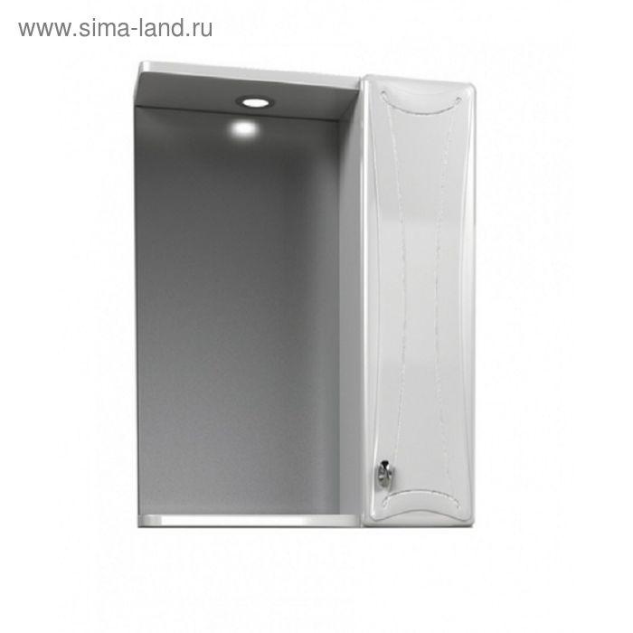"""Шкаф зеркальный AQUALIFE DESIGN """"Котка 60"""", белый"""