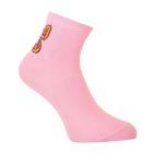 Носки женские FW-351-М-3, р-р  23-25, цвет розовый