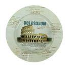 Пепельница круглая Достопримечательности. Colosseum d=13см