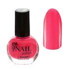 Лак для ногтей, 9мл, цвет 016-053 неоновый розовый