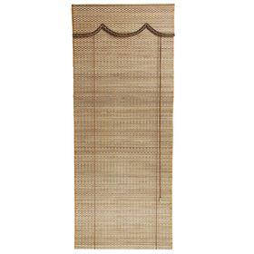 Штора рулонная бамбук 160х60 см