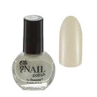 Лак для ногтей с блёстками, 9мл, цвет 064-193 белый