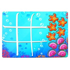 Крестики-нолики 'Водный мир', мини  IG0034 Ош
