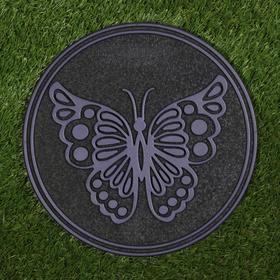 Плитка садовая, 30 х 30 см, пластик, набор 11 шт., терракотовая