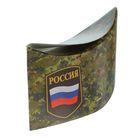 """Пилотка картонная """"Россия"""" хаки,  на резинке (набор 6 шт)"""