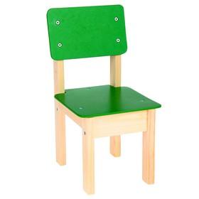 Стул детский №1 (Н=220), зеленый