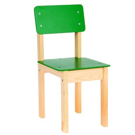 Стул детский №3 (Н=300), зеленый Ош