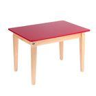 Стол детский №1 (Н=400) (600х450), малиновый