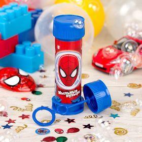 """Мыльные пузыри  """"Человек-паук"""" маска, 45 мл"""