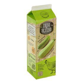 Удобрение Органоминеральное Любо-Зелено Огурцы и Кабачки Pure-Pak, 1 л
