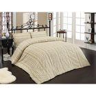 Постельное бельё TWEED 1,5 сп., 160x240, 160x220, 70х70-2шт., бязь 115 г/м², цвет кремовый