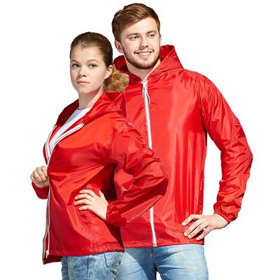 Ветровка муж/жен StanWind, размер 42, цвет красный 58
