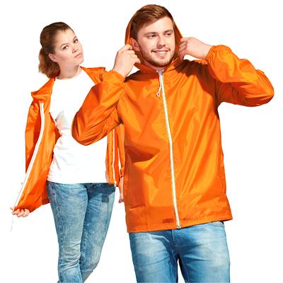 Ветровка муж/жен StanWind, размер 42, цвет оранжевый 58