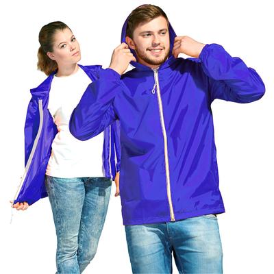 Ветровка муж/жен StanWind, размер 46, цвет синий 58