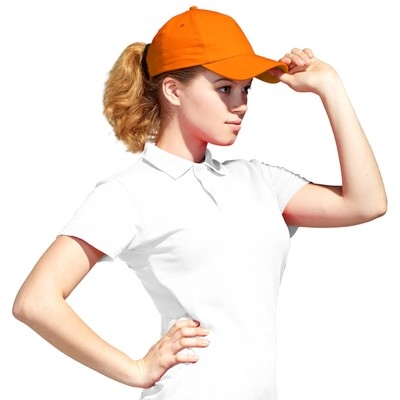 Бейсболка StanLight, one size, цвет оранжевый 130 г/м 10U