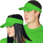 Козырек StanFresh, one size, цвет ярко-зелёный 150 г/м 25