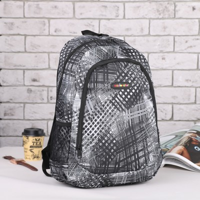 Рюкзак подр Спринт, 32*17*45 отдел на молнии нар карман 2 бок сетки серый