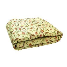 Одеяло облегченное евро 200х220 овечья шерсть 200г/м, пэ 65г/м Ош