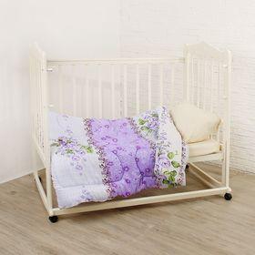 Одеяло детское 120х140 холлофайбер 200г/м, пэ 65г/м