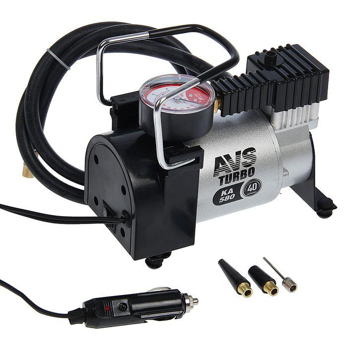 Компрессор автомобильный AVS KA 580, 40 л/мин, 10 атм